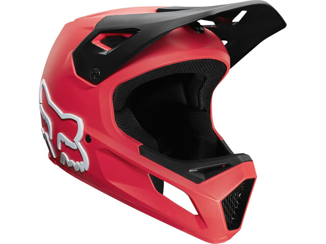 Fox Rampage Helmet Youth bright red